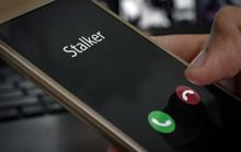 Stalker Caller. A Man Holds A ...