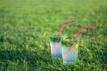 Refreshing Fresh Alcoholic Coc...