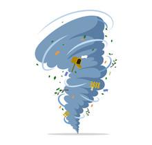 Twisting Tornado Vector Flat I...
