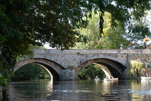 Knaresborough England Riverside Reflections