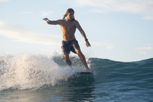 Surfing The Sunrise In Costa R...
