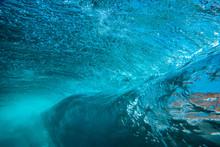 Underwater View Of Ocean Wave