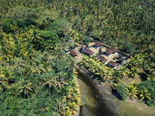 Aerial View Of House With Pool...