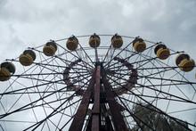 Ferris Wheel In An Abandoned A...