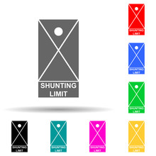 Shunting Limit Multi Color Sty...