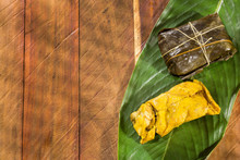 Colombian Tamale Recipe With Steamed Banana Leaves