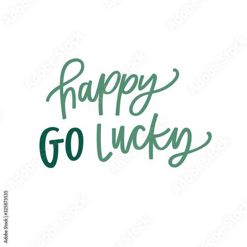 Fotografia Happy Go Lucky