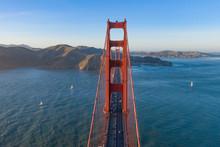 Golden Gate Bridge As Seen Fro...