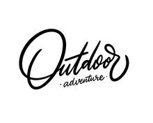 Outdoor Adventure. Hand Drawn ...