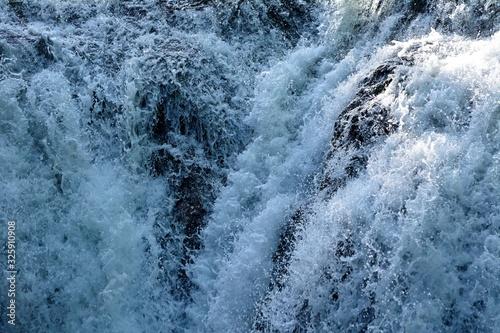 Fotografie, Obraz 滝の落ちる水と飛沫