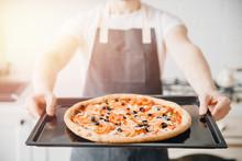 Close-up Italian Hot Fresh Piz...