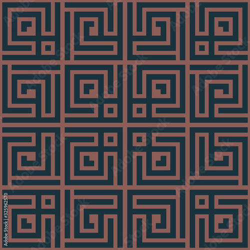 Photo Seamless vector tiled pattern