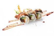 Uramaki Sushi With Tuna, Shrim...