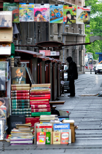 Photo Belgrade's main street