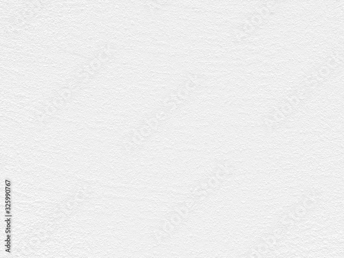 Fototapety, obrazy: White Paper Texture also look like white cement wall texture. The textures can be used for background of text or any contents on Christmas or snow festival.