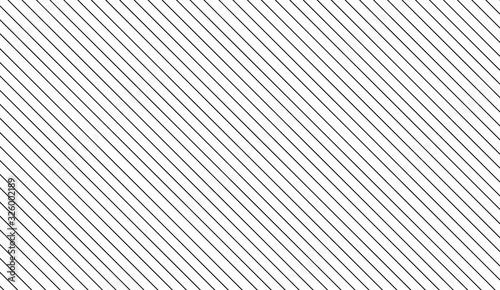 Canvas Print Simple slanting lines pattern background. Vector illustration