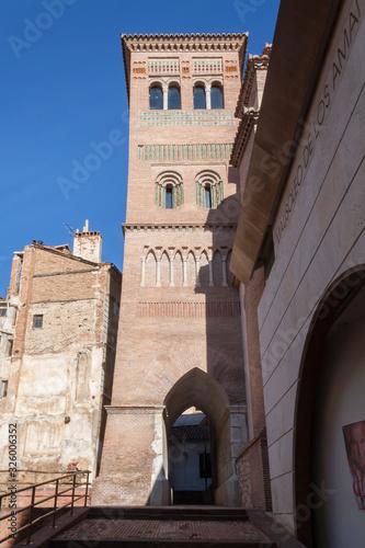 Obraz na plátne Historic center of the city of Teruel