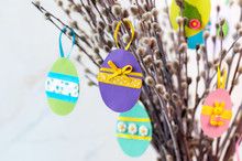 Easter Decoration From Paper A...