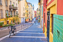Town Of Nice Colorful Street A...