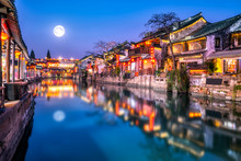 Xitang Ancient Town Rivers And...
