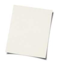 White Paper Sheet Background -...