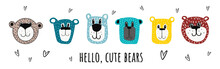 Cute Bears.vector Illustration...