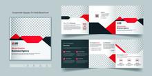 Corporate Square Tri Fold Broc...