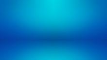 Empty Light Blue Studio Room S...