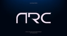 Arc, An Abstract Futuristic Te...
