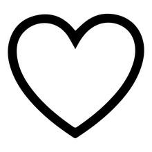 Heart Icon And Love Symbol. Il...