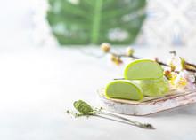 Japanese Ice Cream Mochi With ...