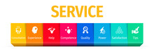 Services Business Flat Vector ...