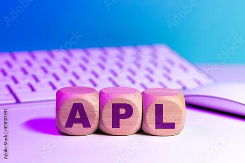 APL - acronyme de Aide Personnalisée au Logement Wallpaper Mural
