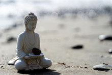 Buddha Statue In Calm Rest Pose