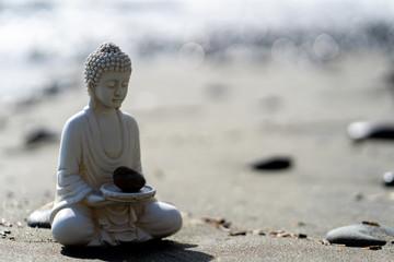 buddha statue in calm rest pose