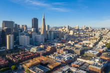 San Francisco Aerial View Of D...