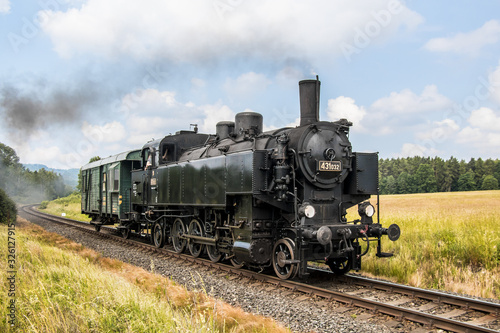 Cuadros en Lienzo Czech operating steam locomotives on Czech railways