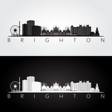 Brighton Skyline And Landmarks...
