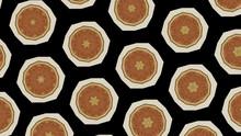 Abstract Decorative Kaleidoscope Texture. Illustration For Design