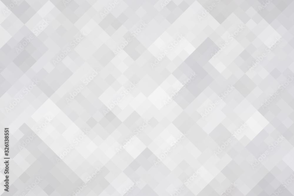 Pixelated monochrome geometric texture.