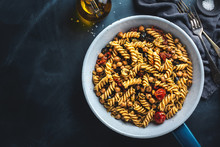 Vegan Pasta With Vegetables An...