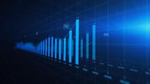 Financial Graph Showing Statis...