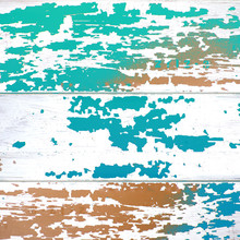 Distressed Colorful Chipped Pa...