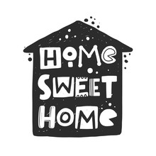 Home Sweet Home Hand Drawn Ill...