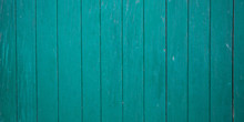 Green Wooden Slats Background ...