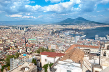 Panoramic View Of Naples And M...
