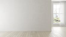 Interior Of Empty Modern Livin...