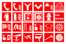 Symbol Emergency Fire Alarm Si...