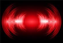 Sound Waves Oscillating Dark R...
