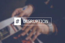 Disruption Word With Business ...